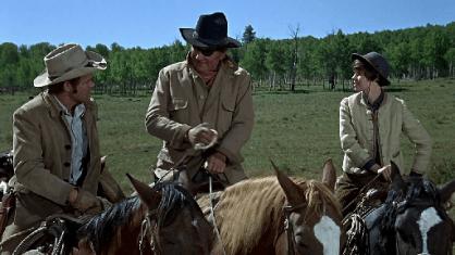 True Grit 1969 John Wayne Glenn Campbell Kim Darby Little Blackie