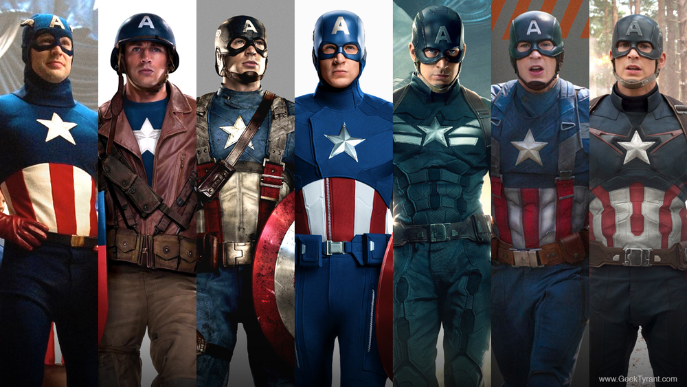 Captain America's Uniforms