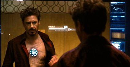 Iron Man 2 Tony Dying