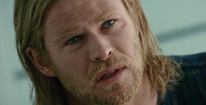 Thor Sad Face Reflection
