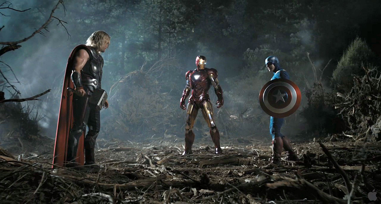 Thor vs Iron Man vs Captain America
