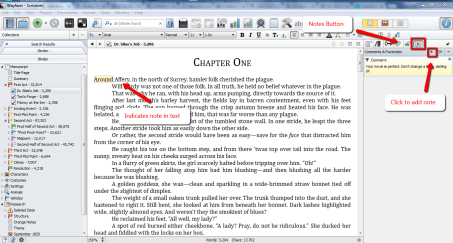 How to Use Scrivener to Edit via Notes