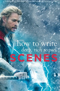 how to write sequel scenes