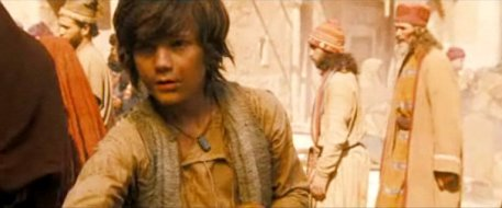 Dastan as child Prince of Persia