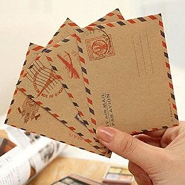 Gift for Writers 2: Mini Airmail Envelopes
