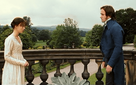 Pride and Prejudice 2005 Elizabeth and Darcy Pemberley