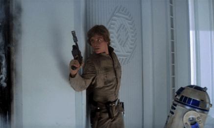 Star Wars Empire Strikes Back Luke Skywalker R2-D2 Cloud City