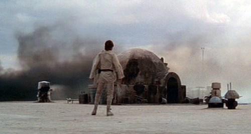 Star Wars Homestead Burning
