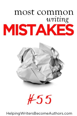 Most Common Writing Mistakes, Pt. 55