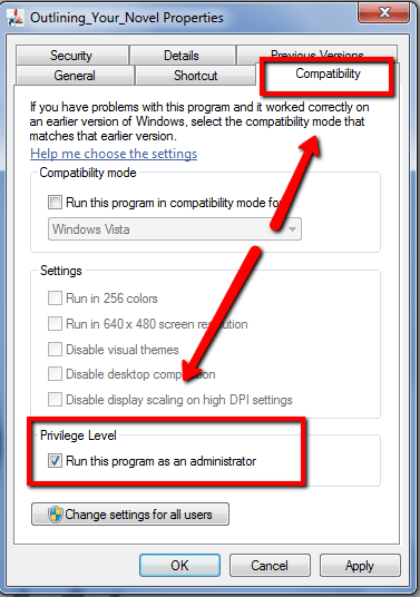 Run_as_Administrator Outlining Your Novel Workbook