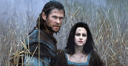 Snow White and the Huntsman Chris Hemsworth Kristen Stewart
