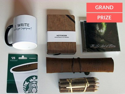 Outlining Your Novel Workbook Computer Program Grand Prize Writer's Care Package