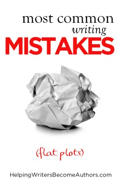 Most Common Writing Mistakes (Flat Plots)