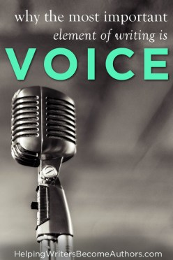 Why the Most Important Element of Writing is Voice