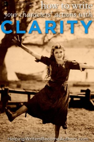 How to Write Your Characters' Actions with Clarity
