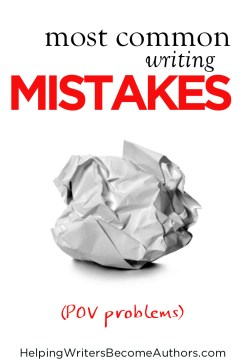 most common writing mistakes pov problems