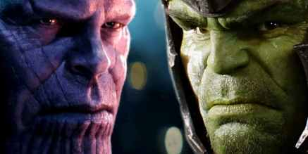 Thanos vs Hulk Avengers Infinity war