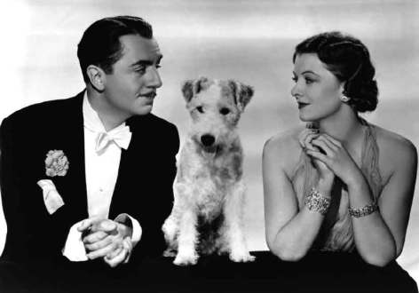 Thin Man Nick and Nora William Powell Myrna Loy
