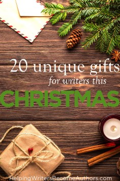20 unique gifts for writers this christmas