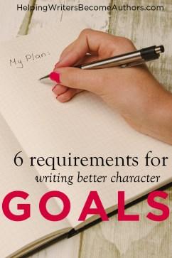 better character goals