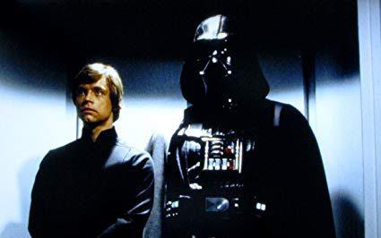 Luke Skywalker Darth Vader Star Wars Return of the Jedi