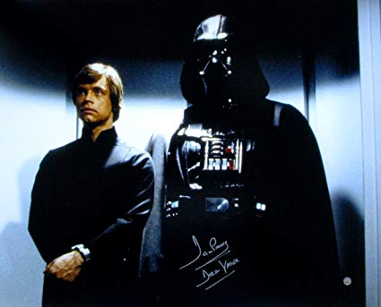 Luke Skywalker Darth Vader Star Wars Return of the Jedi