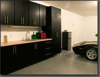 Garage Cabinets  Organized Storage Systems Inc  Custom