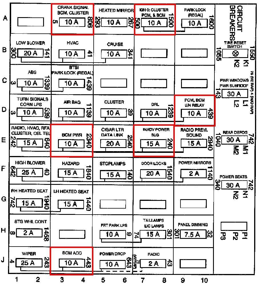 medium resolution of 99 buick regal engine fuse box diagram get free image 1999 buick regal fuse box diagram 1999 buick regal stereo wiring diagram