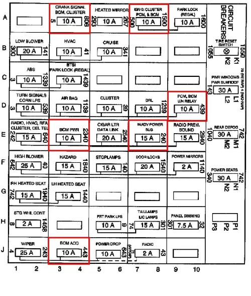 small resolution of 99 buick regal engine fuse box diagram get free image 1999 buick regal fuse box diagram 1999 buick regal stereo wiring diagram