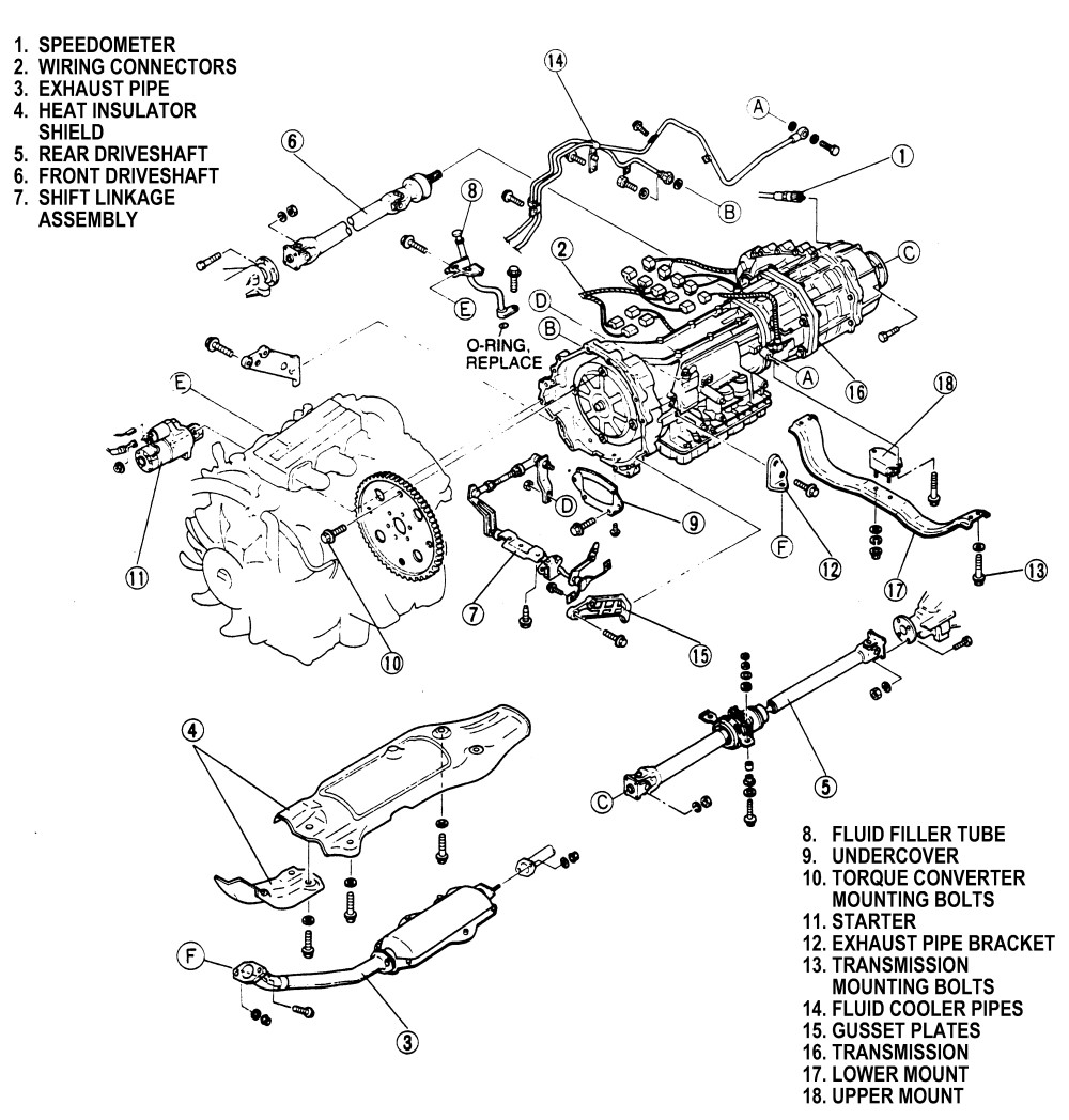 Service manual [How To Install 1991 Mazda Mpv Automatic
