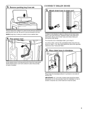Whirlpool WTW5600XW Support and Manuals