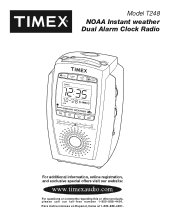 Where Can I Get A Manual For Timex T308s Natural Sounds