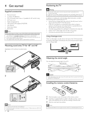 Philips 46PFL5705DV Support and Manuals