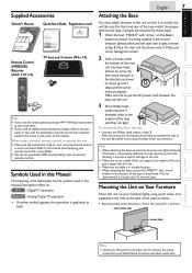 Magnavox 32MF301B Support and Manuals