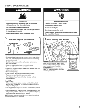 Maytag Performa Washing Machine Manual Mod#pavt920aww