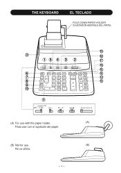 Owner's Manual For Sharp Compet 12 Digit Vx-2652h