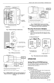 Honeywell T8400C Wiring Diagram