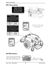 Invacare M91 Support and Manuals