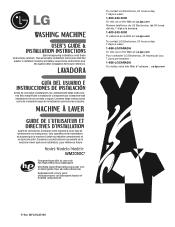LG WM2050CW Manuals