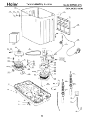 Haier HWM80-27S Support and Manuals