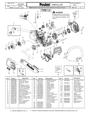 Poulan P3314 Support and Manuals