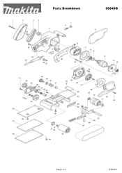 Makita 9924DB Manuals