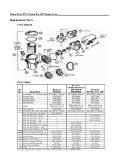 Hayward Power-Flo Support and Manuals