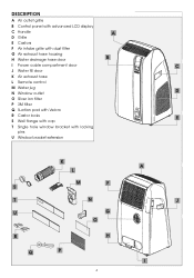 DeLonghi PAC WE130 Support and Manuals
