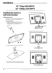 Insignia NS-19E430A10 Support and Manuals