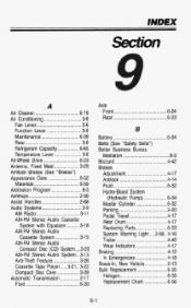1993 GMC Safari Problems, Online Manuals and Repair