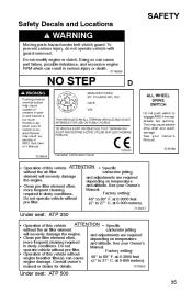2004 Polaris ATP 330 4x4 Research