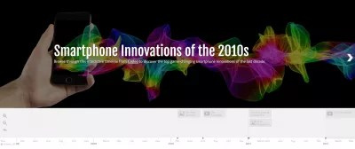 Smartphone Innovations of the 2010s (Infographic) : Smartphone Innovations of the 2010s interactive timeline