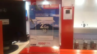 VINI SIM card French Polynesia, how to have mobile internet in Tahiti? : Buying a VINI SIM card French Polynesia at the store