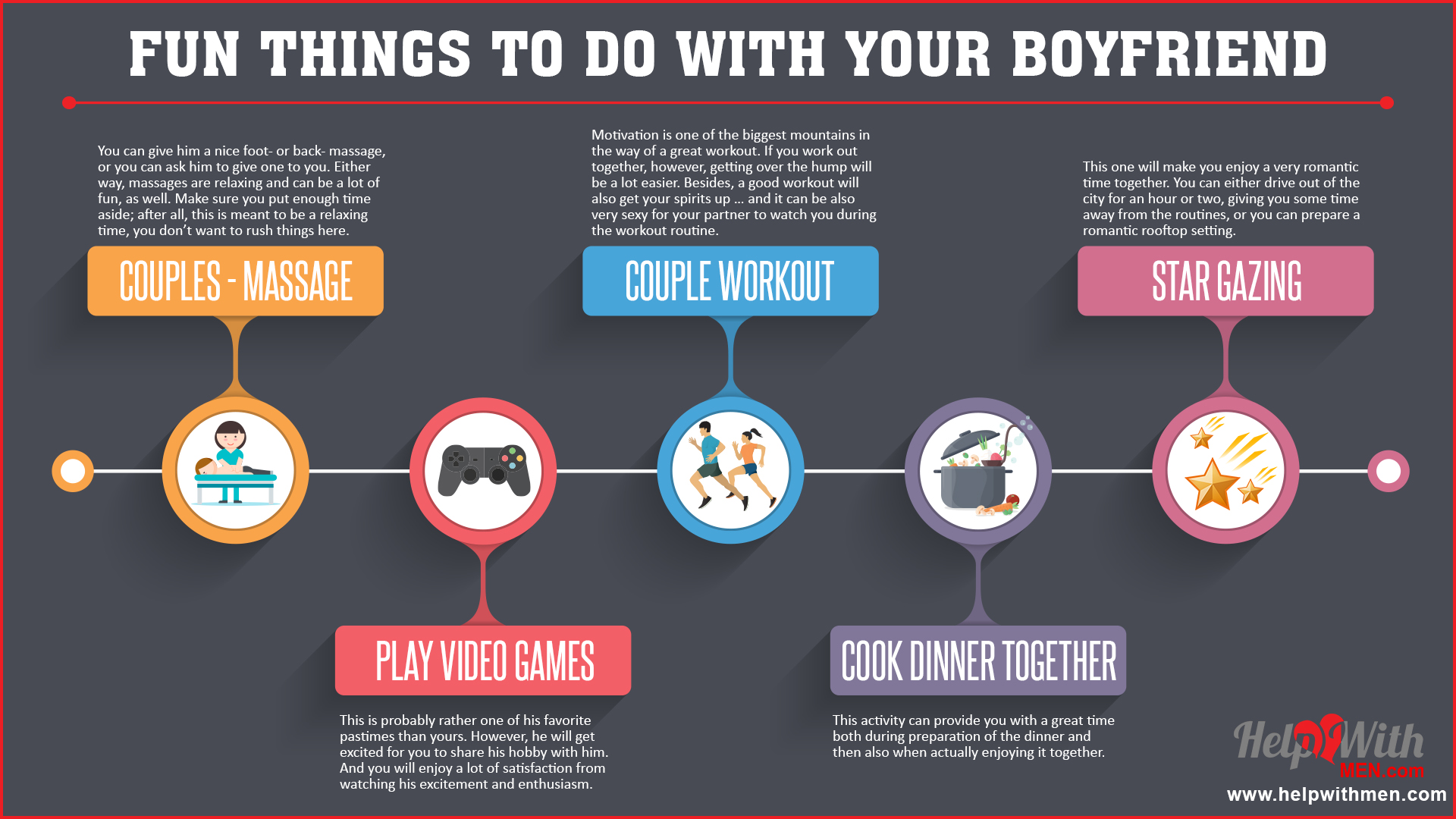 Things To Do With Your Boyfriend  25 Fun Activities